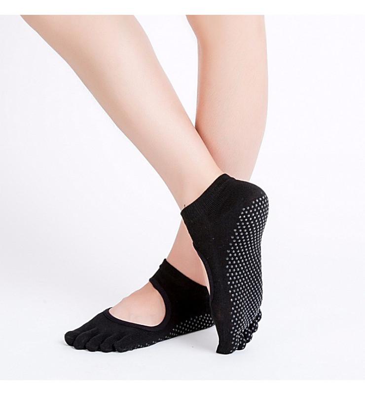 Носки для йоги и фитнеса балетки