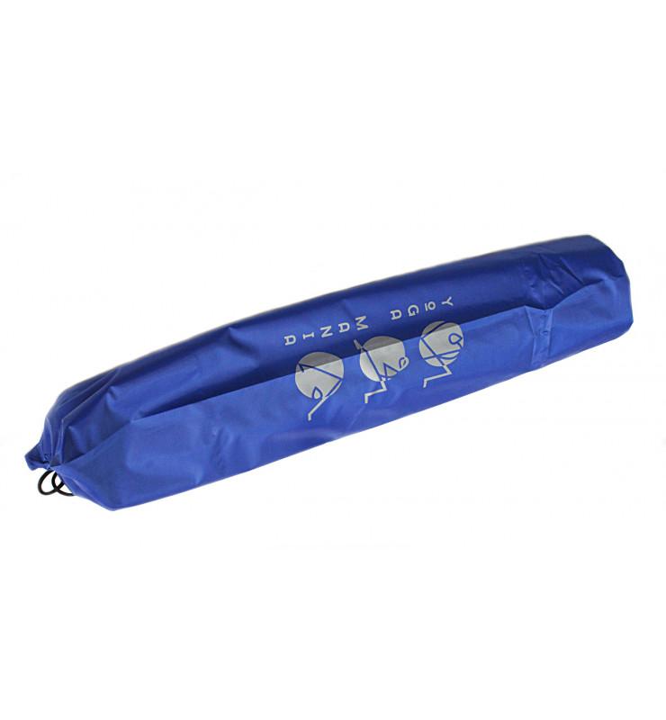 Плащевка Yoga Mania Синий чехол для коврика