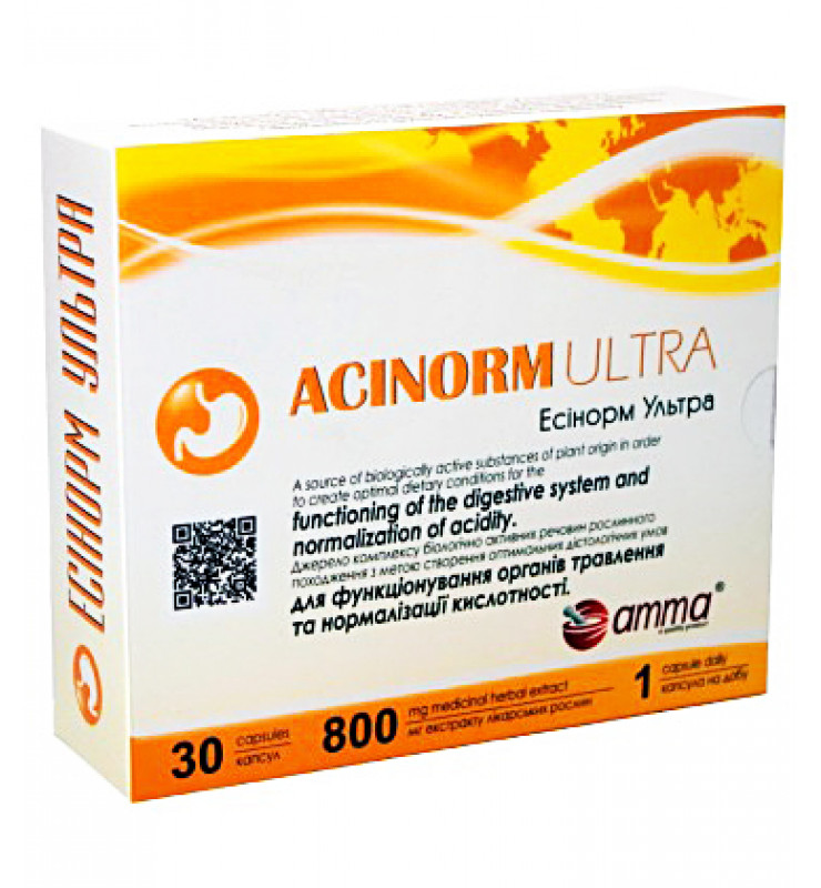 Amma Acinorm Ultra/Эсинорм Ультра Капсулы