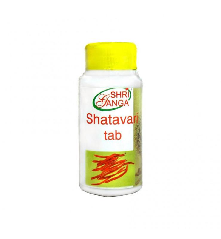 Shri Ganga Shatavari/Шатавари Таблетки