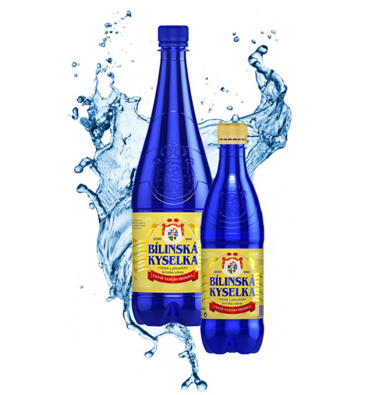 Билинская Киселка минеральная вода из Чехии