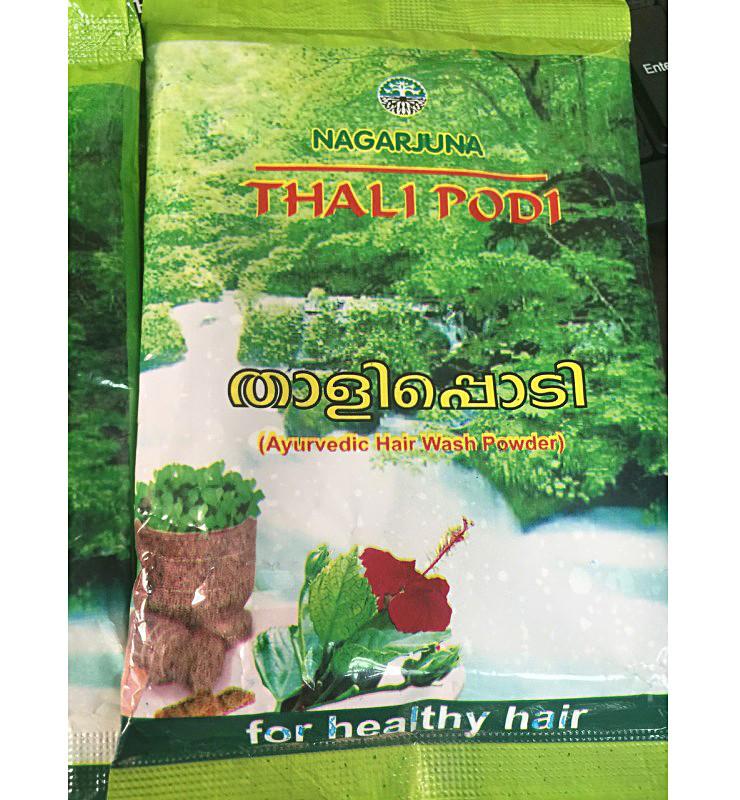 Сухой шампунь травяной Thali Podi