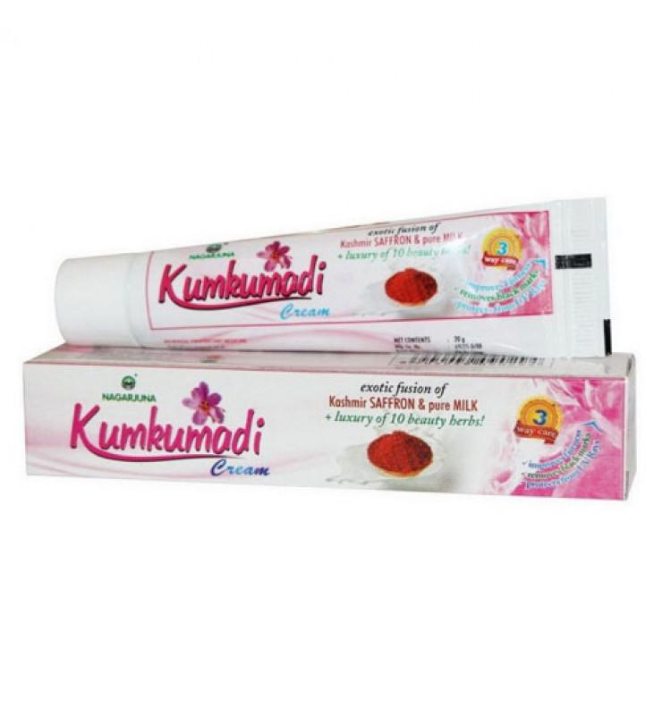 Кумкумади шафрановый крем