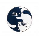 Значок Инь - Ян Cats
