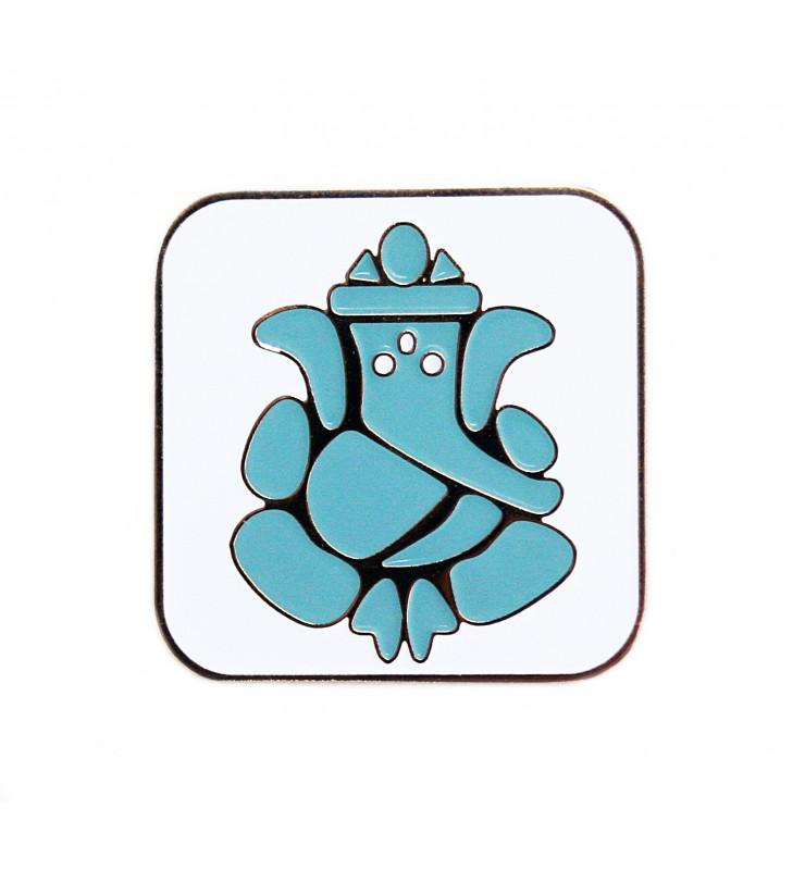 Значок Ганеша Blue
