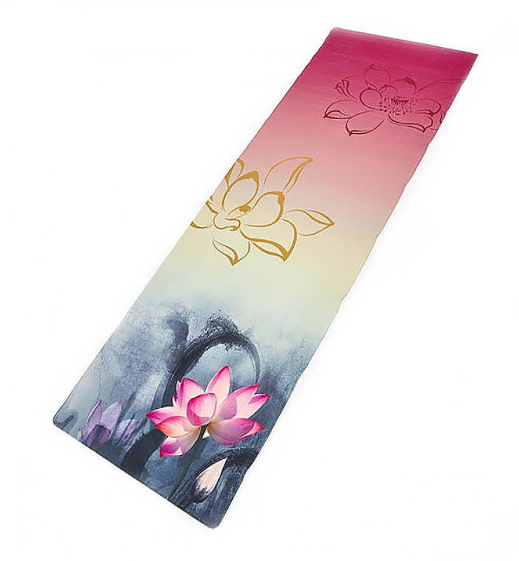 Lotus Лен коврик для йоги