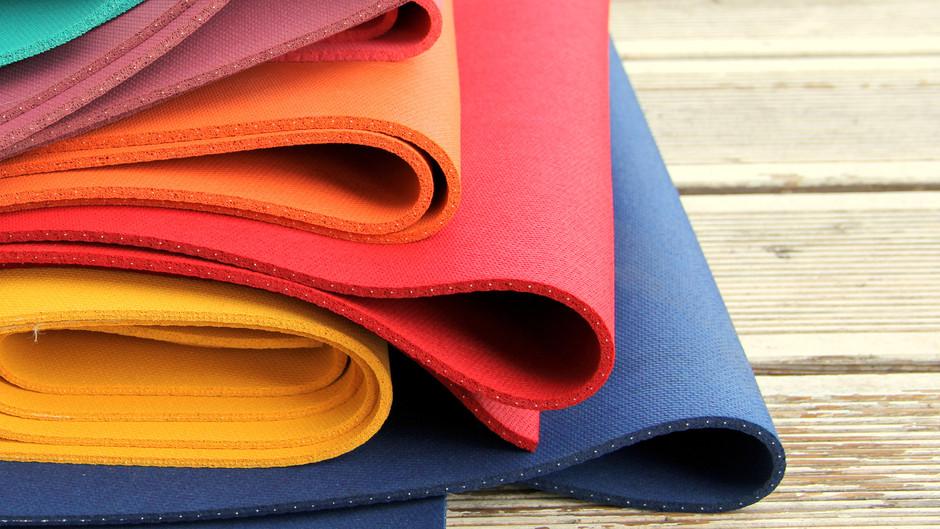 Прочный коврик для йоги