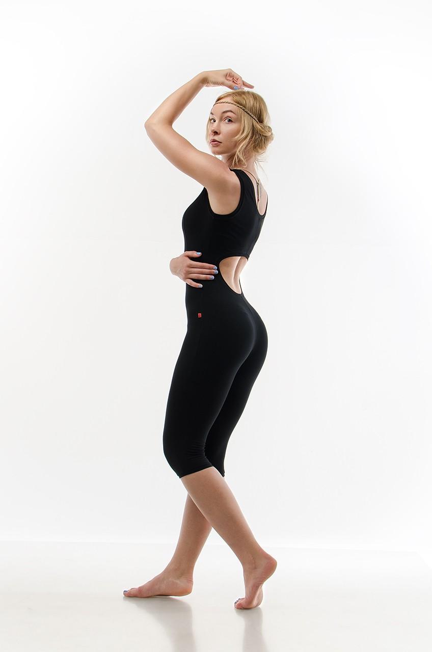 Комбинезон для фитнеса из натуральных тканей