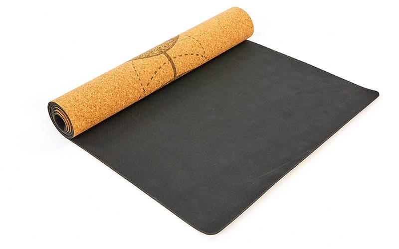 Натуральные коврики для йоги