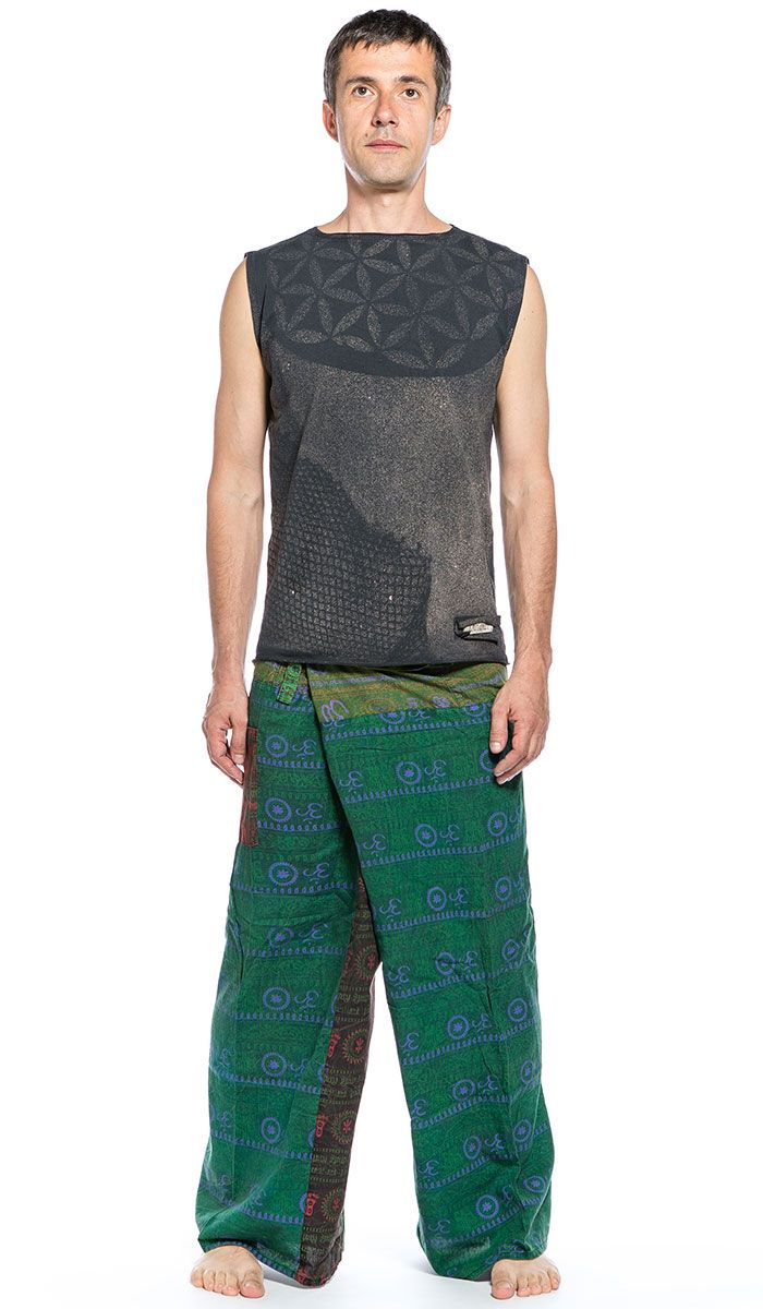 Мужской комплект одежды для йоги