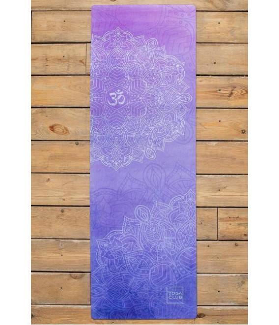Купить коврик-полотенце для йоги из микрофибры