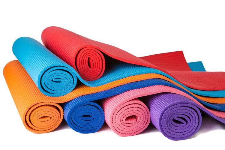 Цепкие коврики для йоги