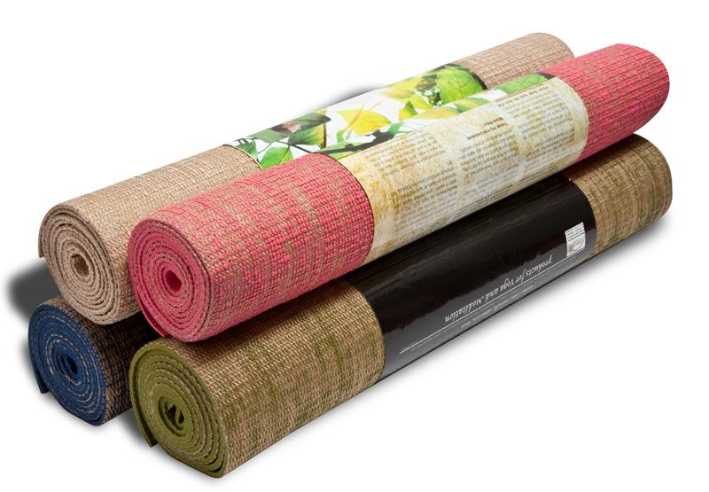 Хлопковый коврик для йоги